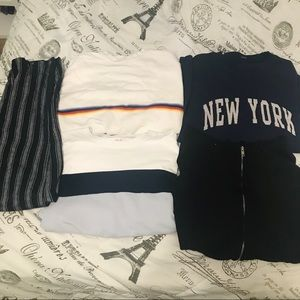 BRANDY MELVILLE LONG SLEEVE/PANTS COLLECTION